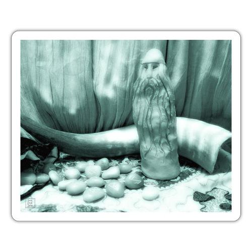 Odino e le Rune - Adesivo
