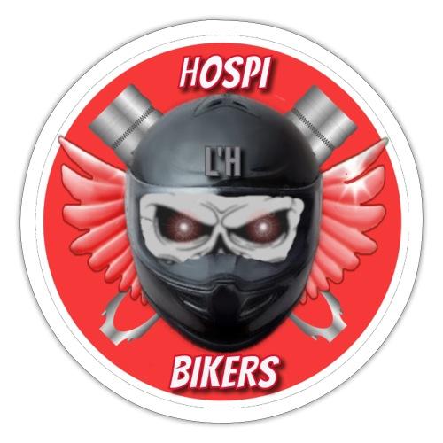 logo hospibikers - Pegatina