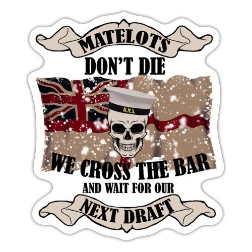 Cross the Bar2 - Sticker