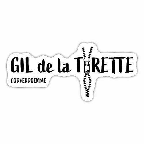 GIL de la Tirette - Sticker