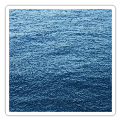 Water Texture Printdesign - Sticker