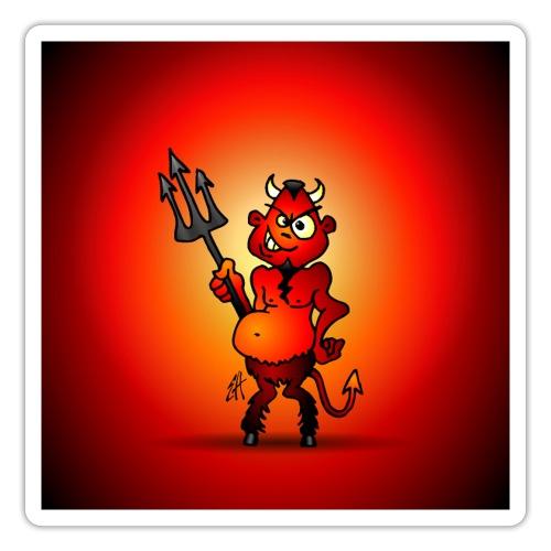 Little red devil - Sticker
