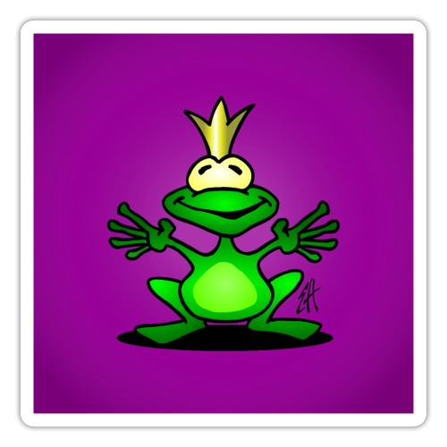 Frog prince - Sticker