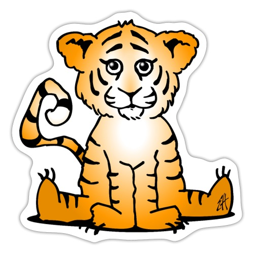 Tiger cub - Sticker