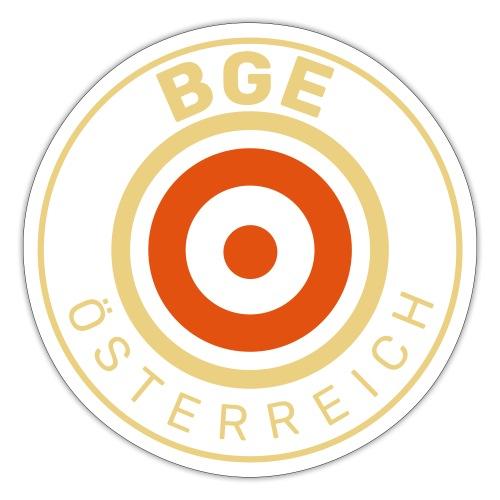 BGE in Österreich mit Fahne - Sticker