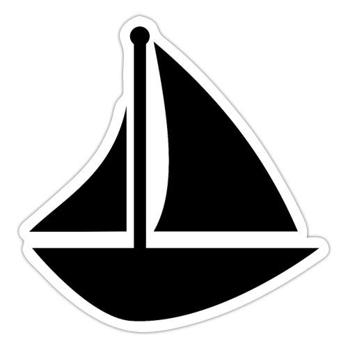boat Printdesign - Sticker