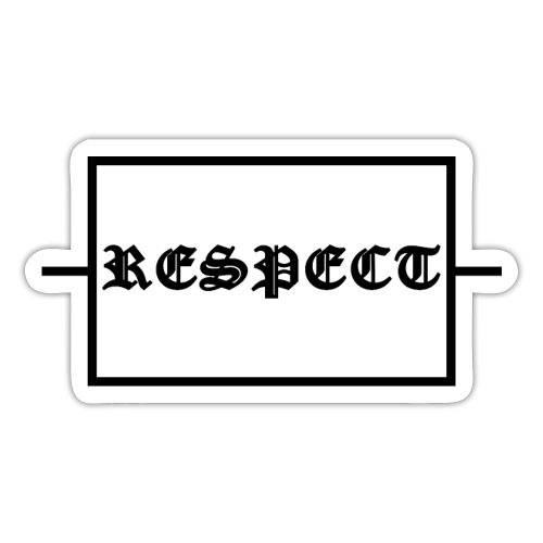 Widerstand für RESPECT - Sticker