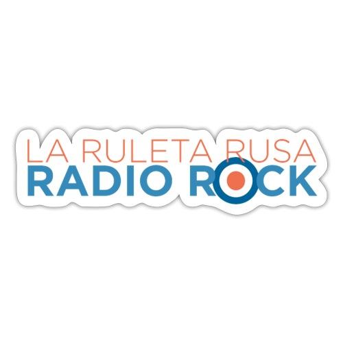La Ruleta Rusa Radio Rock. Landscape Primary. - Pegatina