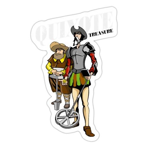 Quixote Treasure - Pegatina
