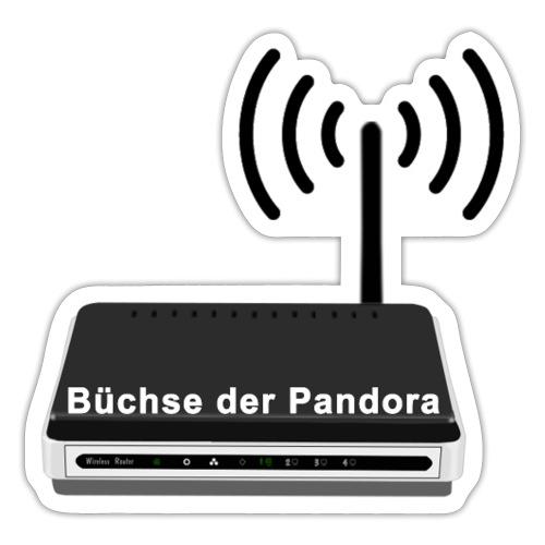 Büchse der Pandora - Sticker