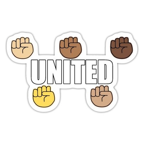 Gemeinsam gegen Rassismus - Sticker