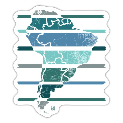 South America - Sticker