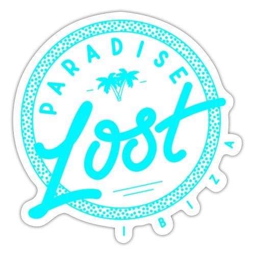 Paradise Lost Ibiza - Acid Blue Logo - Sticker