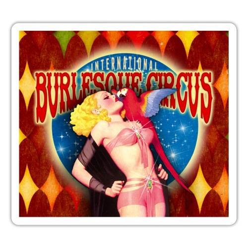 International Burlesque Circus - Once Upon A Time - Sticker