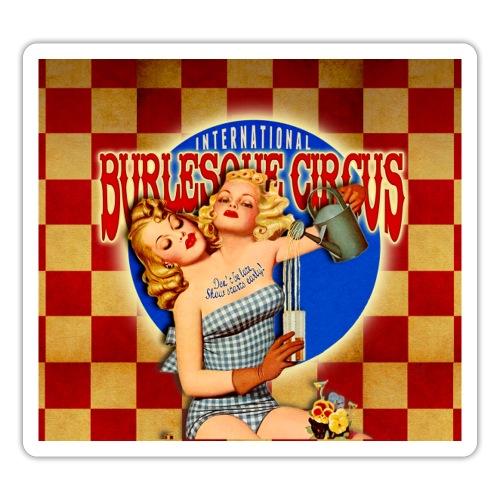 International Burlesque Circus - Freaks & Geeks - Sticker