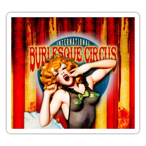 Int. Burlesque Circus - monsters in pajamas - Sticker