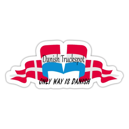 Danish Truckspot poster - Sticker