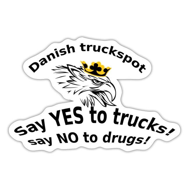 Danish truckspot sat yes to truck poster