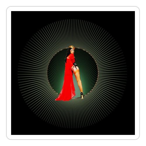 Pinup your Life - Xarah as Pinupart - Queen - Sticker