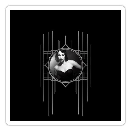 Femme Fatale Xarah Design 2 - Sticker