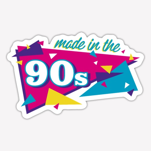 Made in the 90s - Sticker