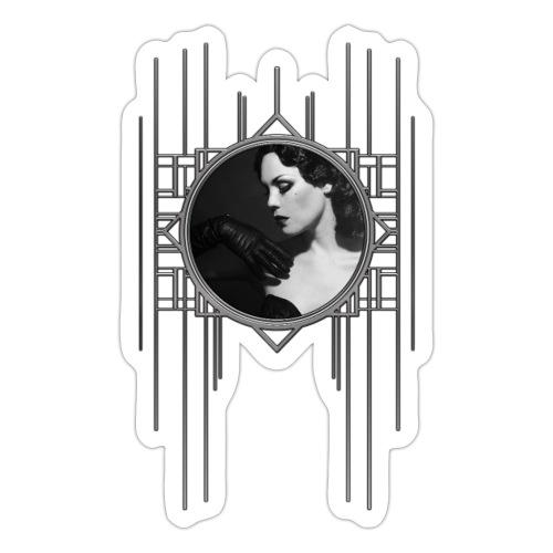 Femme Fatale Xarah Design 3 - Sticker