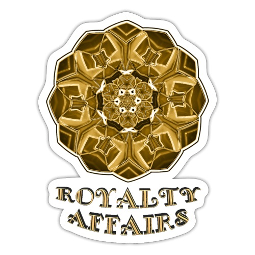 Royalty djf - Pegatina