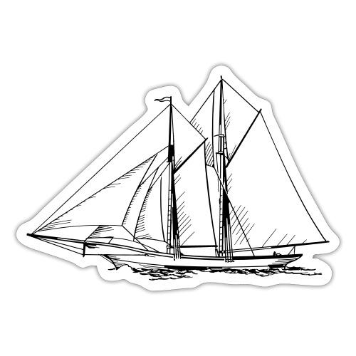 sailing boat - Sticker