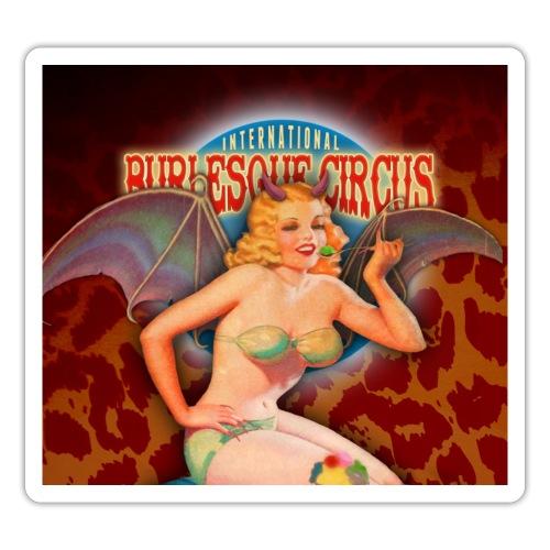 The International Burlesque Circus - Beastilicious - Sticker