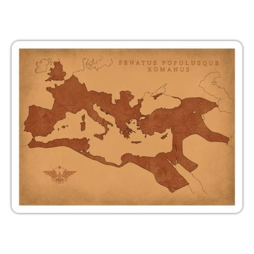 Mapa Imperium Rzymskiego | Map of Roman Empire - Naklejka