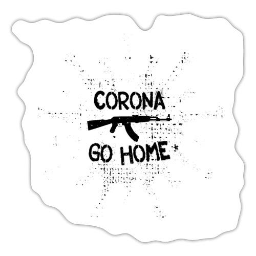 VIRUS - CORONA GO HOME - Sticker