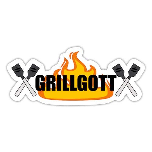 Grillgott Meister des Grillens - Sticker