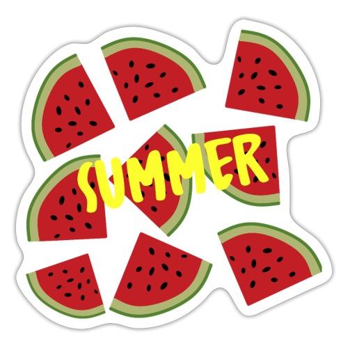 Sommer Sonne Wassermelone - Sticker