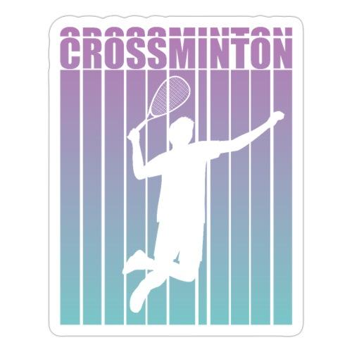 Crossminton - Speed badminton - Sticker