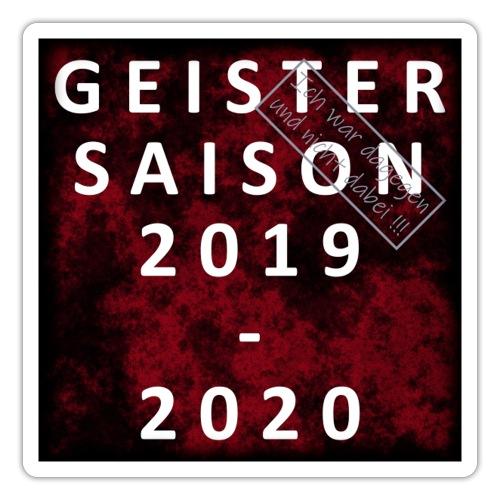 GEISTERSAISON 2019/2020 - Sticker