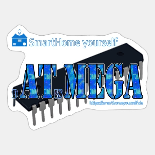 dATisMEGA - Sticker