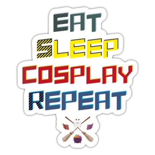 Wizard - EatSleepCosplayRepeat - Sticker