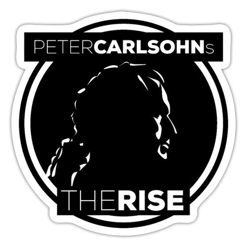 Peter Carlsohn's The Rise - Klistermärke