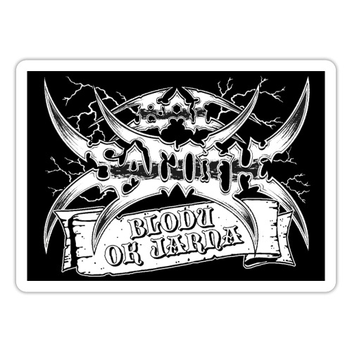 Bal-Sagoth Scroll Logo - Sticker