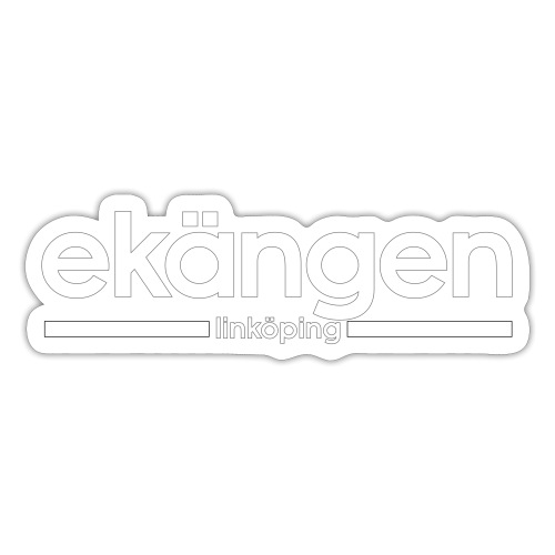 Ekängen - Linköping - Klistermärke