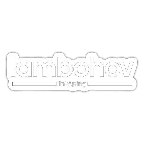 Lambohov- Linköping - Klistermärke