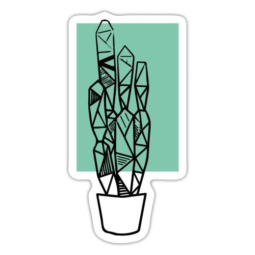 Kleiner Designer Kaktus - Sticker