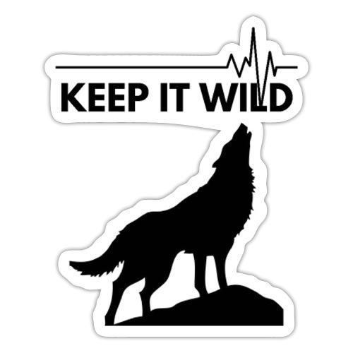 Keep it wild - Sticker