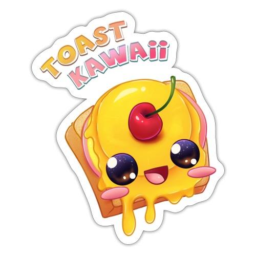 Toast Kawaii - Sticker