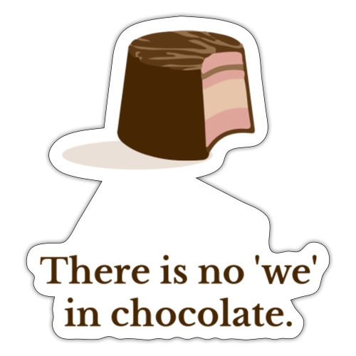 Chocolate - Sticker