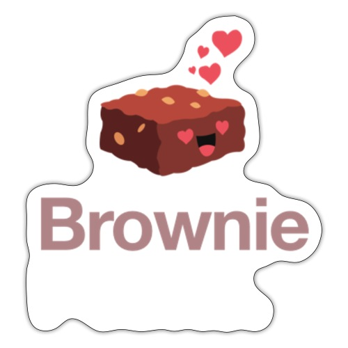 Brownie - Sticker