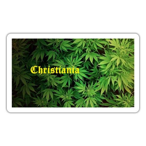 Christiania Hash Logo - Sticker