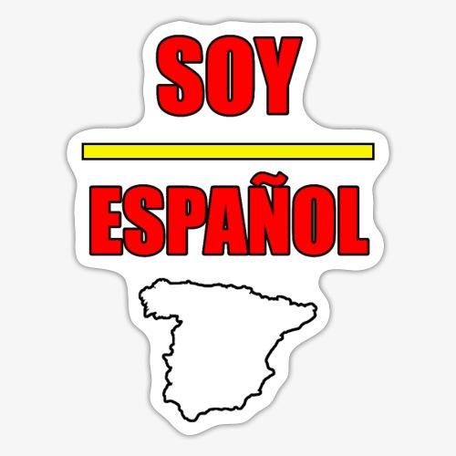 Soy Español - Pegatina