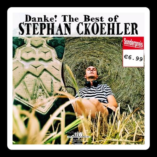 Danke! The Best of Stephan Ckoehler - Sticker