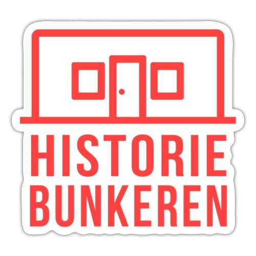 Historiebunkeren logo - Sticker